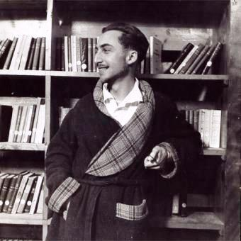 A young Roland Barthes, playing at bourgeois